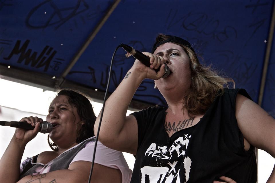Juntas, no palco, MCs pretendem levar mensagem de combate à gordofobia